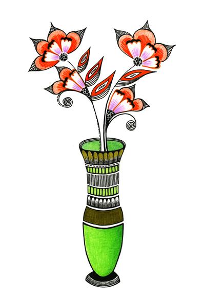 Zana_Flower Vase