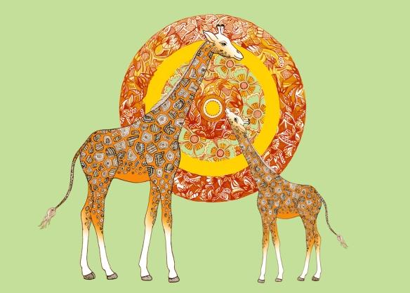 Zana Bass_Giraffe Card Front_Web