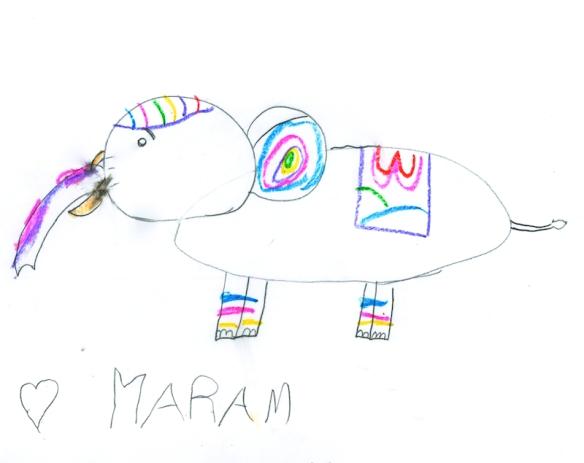Maram, age 7